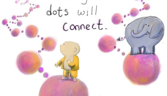 Joining the dots by Butterlfy Mango