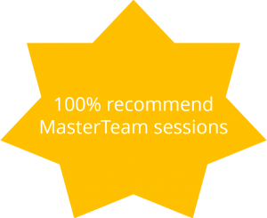 100% recommend MasterTeam sessions